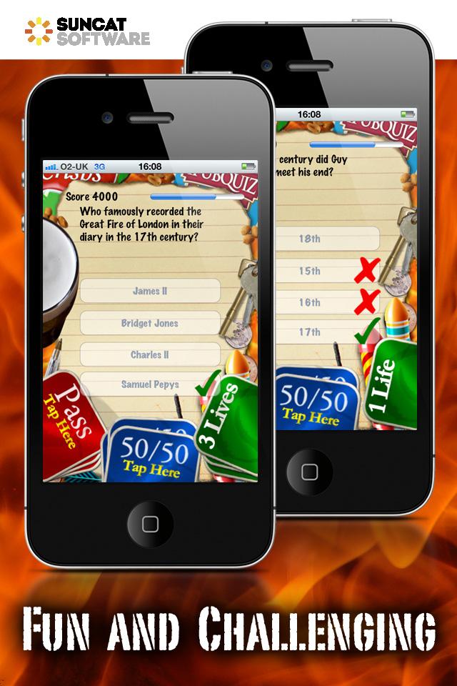Screenshot iPUBQUIZ – Bonfire Night Quiz